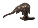Parastone BUG01 Elephant Begging Asian with Trunk Outstretched Statue by Bugatti 10L