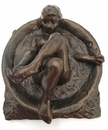 Parastone DE13 Degas Woman Bathing in Round Tub Statue