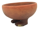 Parastone EG10 Egyptian Offering Bowl with Human Feet Small Figurine