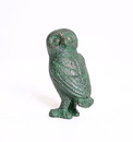 Parastone GRE09 Greek Owl Statue with Bronze Finish