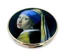 Parastone M28VE Girl with Pearl Earring Pocket Mirror by Vermeer