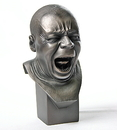 Parastone PA14ME Pocket Art Yawner Man Portrait Bust by Messerschmidt