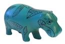 Parastone PA25EG Pocket Art Egyptian Hippo Blue Miniature Statue 4L