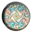 Parastone PESC1 Fishes Circle Limit III Glass Paperweight by M.C. Escher