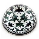 Parastone PESC2 Escher Angels and Devils Interlocking Tessellation Glass Dome Paperweight 3W