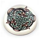 Parastone PESC3 Snakes Glass Paperweight by M.C. Escher