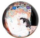 Parastone PKL2 Three Ages of Women Glass Paperweight by Klimt