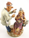 Parastone PRO01 Dentist with Grandma Knitting Statue Profisti