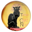 Parastone PSTE1 Le Chat Noir Glass Paperweight by Steinlen