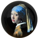 Parastone PVER1 Girl with Pearl Earring Glass Paperweight by Johannes Vermeer