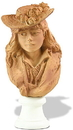 Parastone RO10 Rose Beuret in Straw Hat Portrait Statue by Rodin