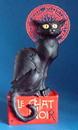 Parastone STE01 Le Chat Noir Black Cat Statue by Steinlen