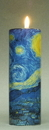 Parastone TC02GO Van Gogh Starry Night Tealight Candleholder