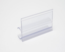 Label Holder, Modular Racking, Clear, AV2400