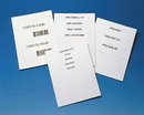 Laser Ink Jet Insert Sheets, Ltr, White, LI50826