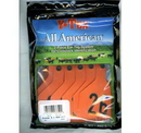 Y-Tex 7902026 All American 4 Star Two Piece Cow & Calf Ear Tags Orange Large #26-50