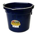 Miller P20FBNAVY Flat Back Plastic Bucket - Navy -20 Quart - Each