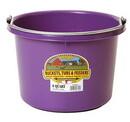 Miller P8PURPLE Plastic Bucket - 8 Quart - Purple - Each