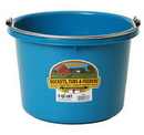 Miller P8TEAL Plastic Bucket - 8 Quart - Teal - Each