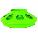 Miller 806APPLEGREEN Plastic Feeder Base - Quart - Apple Green - Each