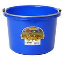 Miller P8BLUE Plastic Bucket - 8 Quart - Blue - Each
