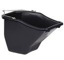 Miller BB10BLACK Plastic Better Bucket - Black - 10 Quart - Each