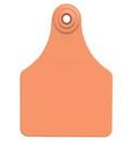 Allflex Usa GLF/GSM-O Global Large Female Blank Ear Tag - Orange - 25/Box