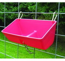 Miller FF16RED Fence Feeder With Clips - 16In - Red - Each