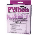 Behlen 1817000 Python Insecticide Cattle Ear Tags 20 Count