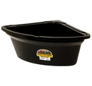 Behlen PCF6BLACK Corner Feeder - 26 Quart - Black - Each