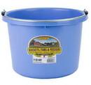 Behlen P8BERRYBLUE Plastic Bucket - 8 Quart - Berry Blue - Each