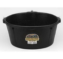 Behlen HP750 Little Giant 6.5 Gallon Rubber Feeder Tub With Hooks Hp750