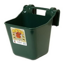 Behlen HF12GREEN Little Giant Hook Over Portable Feeder Green 12 Quart