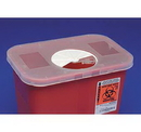 Behlen 8970 Multi-Purpose Sharps Containers Rotor Opening Lids 8 Quart