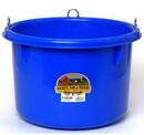 Behlen P800BLUE Little Giant 8 Gallon Blue Plastic Round Feeder P800Blue