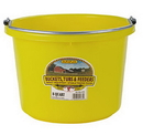 Behlen P8YELLOW Plastic Bucket - 8 Quart - Yellow - Each