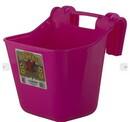 Behlen HF12HOTPINK Plastic Hook Over Feeder - Hot Pink - 12 Quart - Each