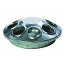 Behlen 9808 Round Metal Chick Feeder - 8 Holes - Each