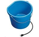 Behlen 20FB Heated Flat Back Bucket - 20 Quart - Each