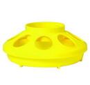 Behlen 806YELLOW Plastic Feeder Base - Quart - Yellow - Each