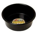 Behlen P5BLACK Plastic Utility Pan - 5 Quart - Black - Each