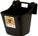 Behlen HF12BLACK Plastic Hook Over Feeder - Black - 12 Quart - Each