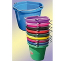 Behlen 1302012 Flatback Bucket - 20 Quart - Hot Pink - Each