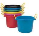 Behlen 1307001 Multi-Purpose Bucket - 70 Quart - Black - Each