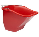 Behlen BB20RED Plastic Better Bucket - 20 Quart - Red - Each