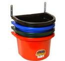 Behlen FF20GREEN Fence Feeder With Clips - 20 Quart - Green - Each