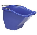 Behlen BB10BLUE Plastic Better Bucket - Blue - 10 Quart - Each