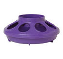 Behlen 806PURPLE Plastic Feeder Base - Quart - Purple - Each