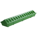 Behlen 820LIMEGREEN Plastic Flip Top Poultry Ground Feeder - 20In - Lime Green - Each