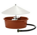 Behlen 166386 Automatic Poultry Waterer With Cover - Each